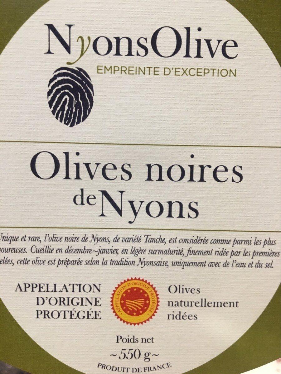 Olives Noires de Nyons - Product - fr