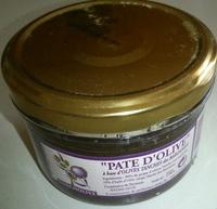 Pate d'olive - Produit