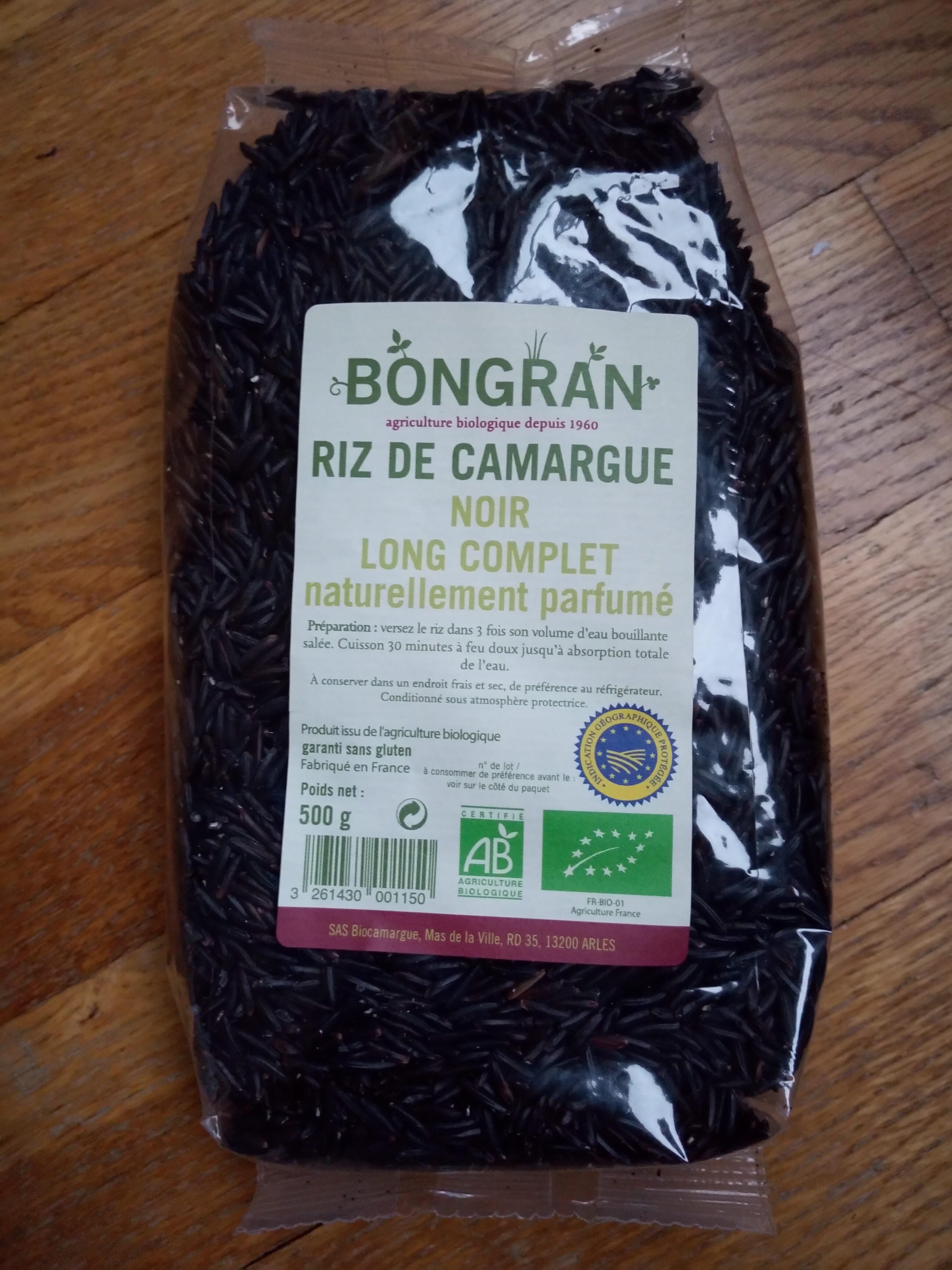 Riz de Camargue Long Noir Complet - Produit - fr