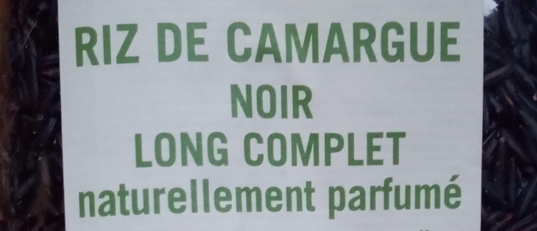 Riz de Camargue Long Noir Complet - Ingrédients - fr