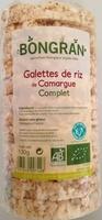 Galettes de riz de Camargue complet - Produit - fr