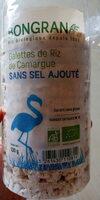 Galettes de riz de Camargue sans sel ajouté - Product - fr