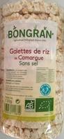 Galettes de riz de Camargue sans sel - Produit - fr