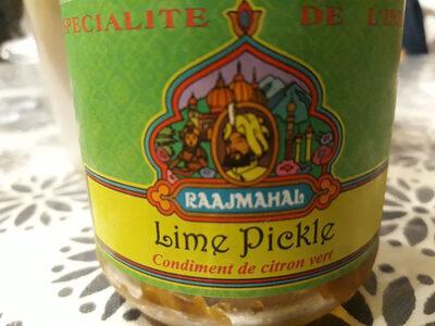 Condiment De Citron Vert - Produit - fr