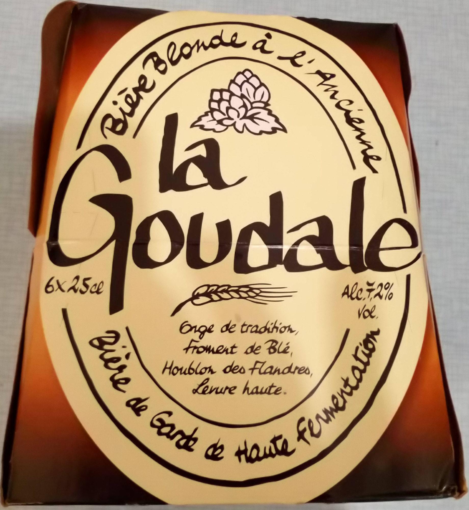 La Goulade - bière blonde à l'ancienne - Product - fr