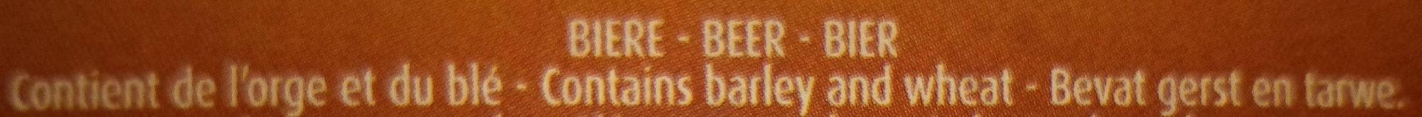 La Goulade - bière blonde à l'ancienne - Ingredients - fr