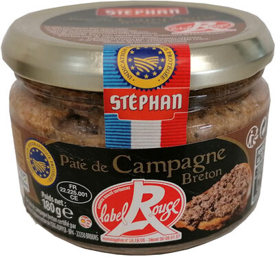 Pâté de Campagne Breton Label Rouge IGP - Produit - fr