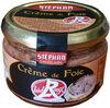 Crème de foie Label Rouge - Product
