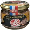 Pâté de Campagne au Cognac Label Rouge - Product