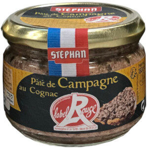 Pâté de Campagne au Cognac Label Rouge - Produit - fr