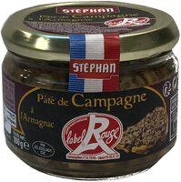 Pâté de Campagne à l'Armagnac Label Rouge - Produit - fr