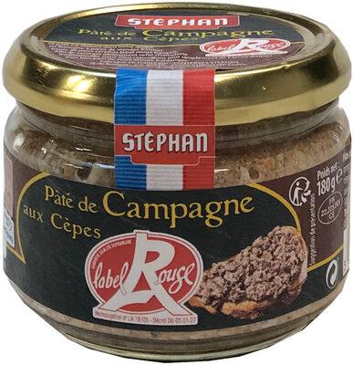 Pâté de Campagne aux Cèpes Label Rouge - Produit - fr