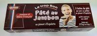 Pâté au jambon au piment d'Espelette - Produkt - fr