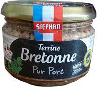 Terrine bretonne pur porc IGP - Produit - fr