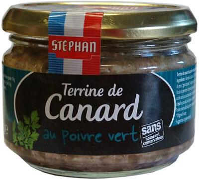 Terrine de Canard au poivre vert - Produit - fr