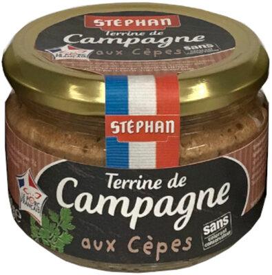 Terrine de Campagne aux Cèpes - Produit - fr