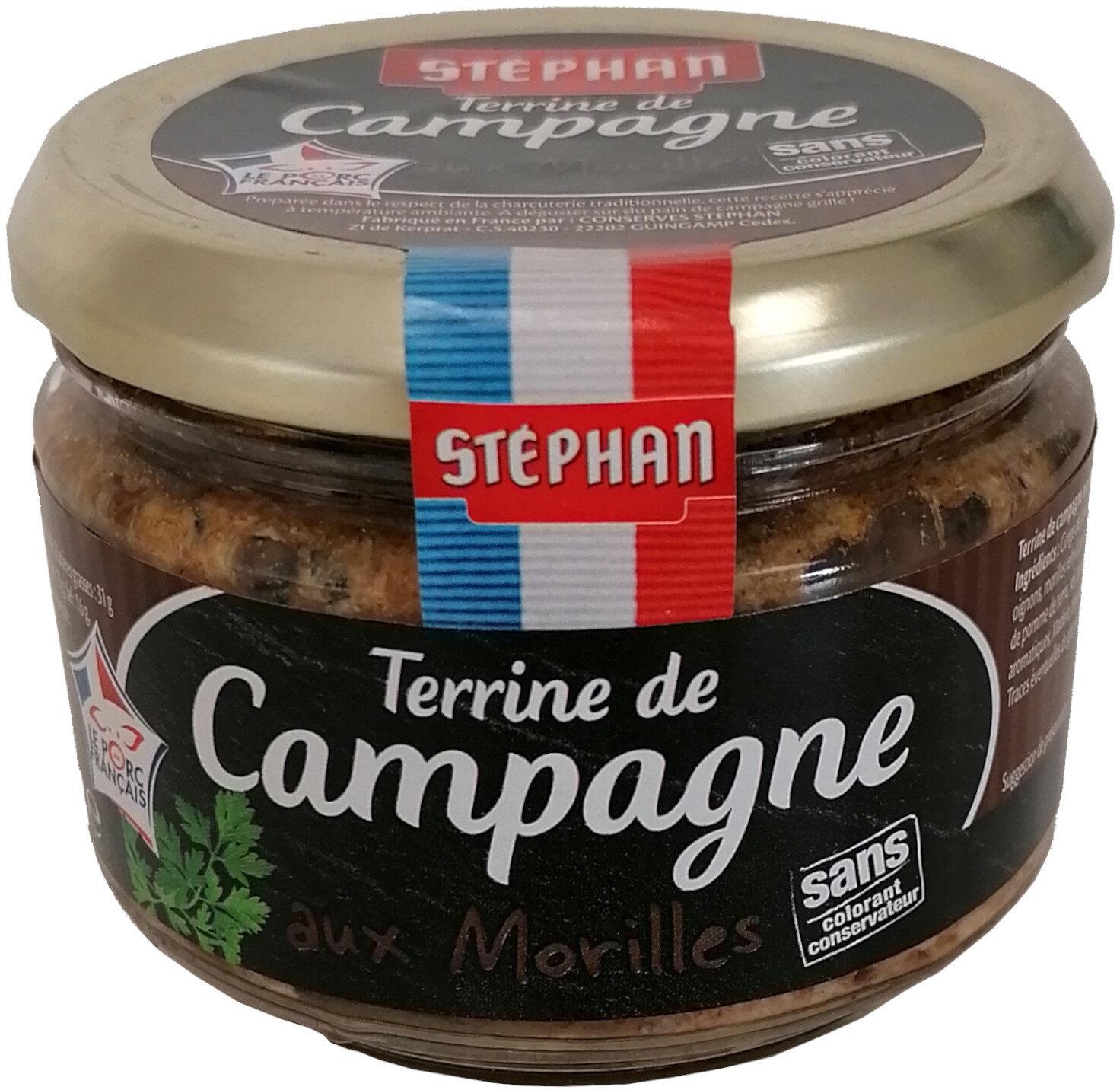Terrine de Campagne aux Morilles - Produit - fr