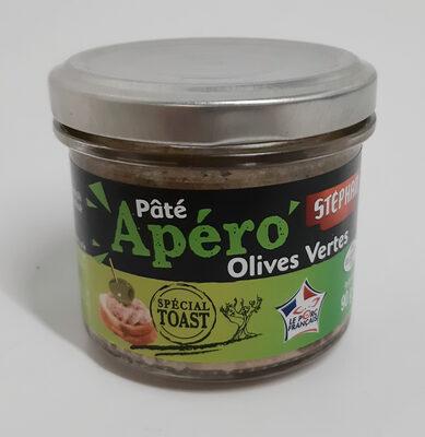 Pâté 'Apéro' olives vertes - Produkt