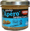 Rillettes Apero Sardine Curry - Produit
