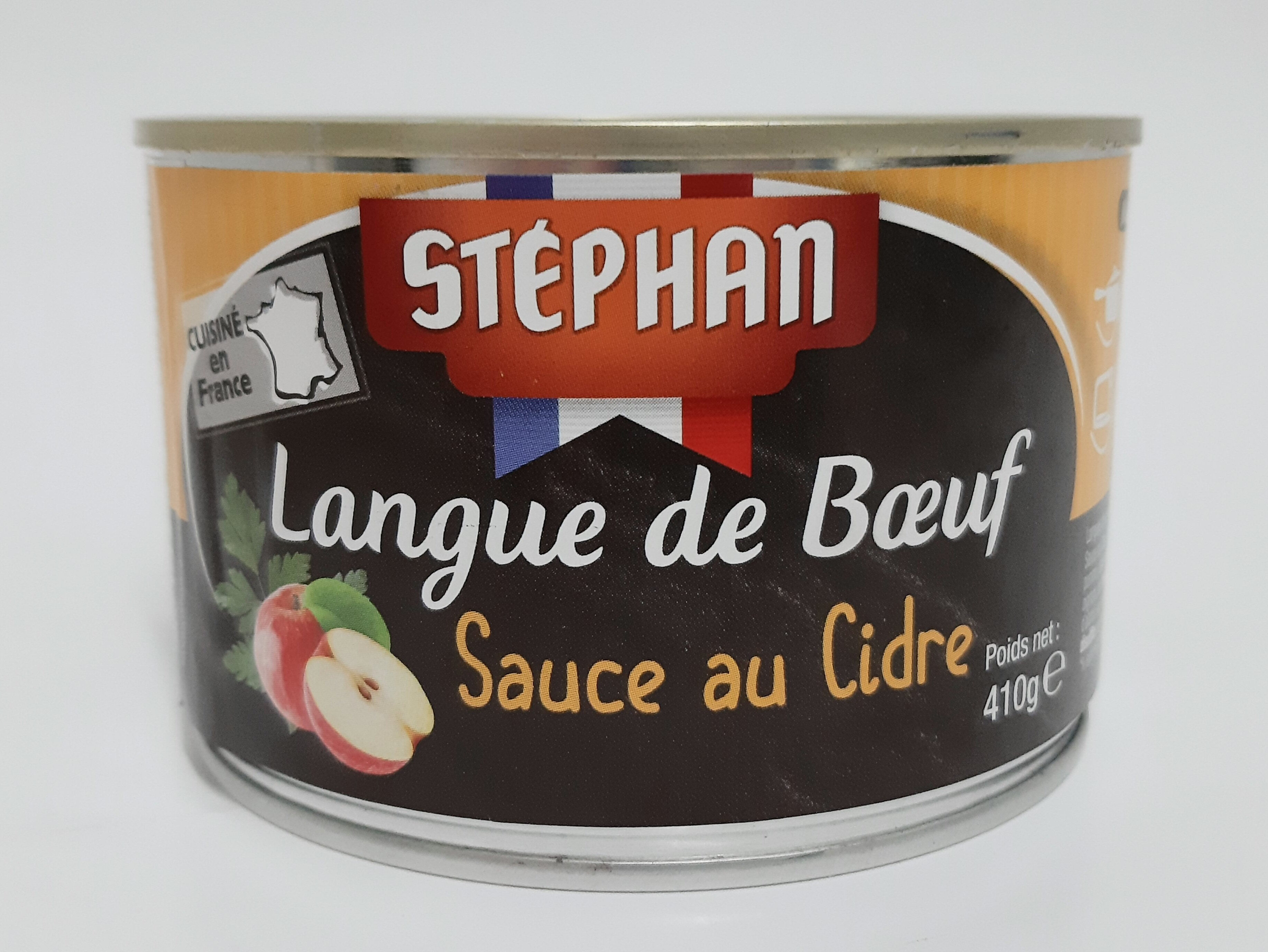 Langue de boeuf sauce au cidre - Produit - fr