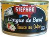 Langue de boeuf sauce au cidre - Product
