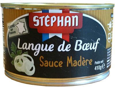 Langue de bœuf sauce madère - Produit - fr