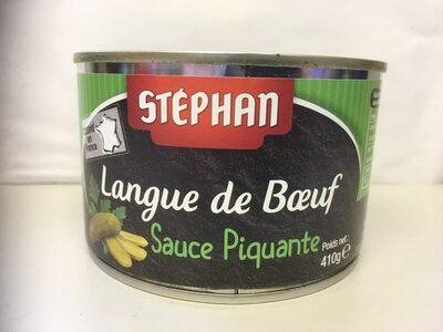 Langue de bœuf sauce piquante - Product - fr