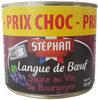 Langue de bœuf sauce au vin de Bourgogne - Product