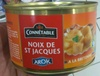 Noix de St Jacques - Produit