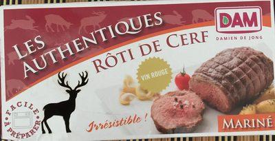 Rôti de Cerf au Vin Rouge - Product - fr