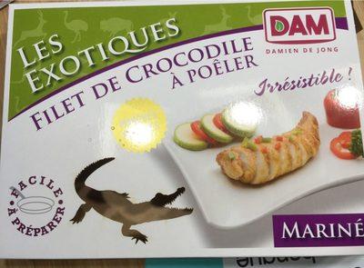 Filet de crocodile à poêler - Produit - fr
