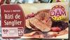 Rôti de Sanglier - Product