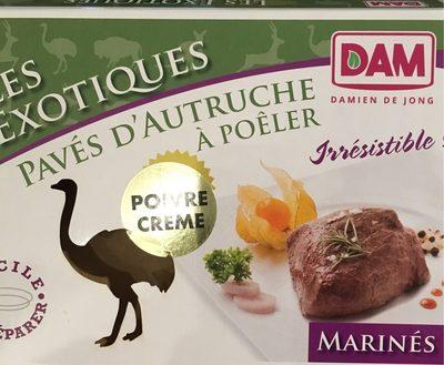 Paves d'autruche - Produit - fr