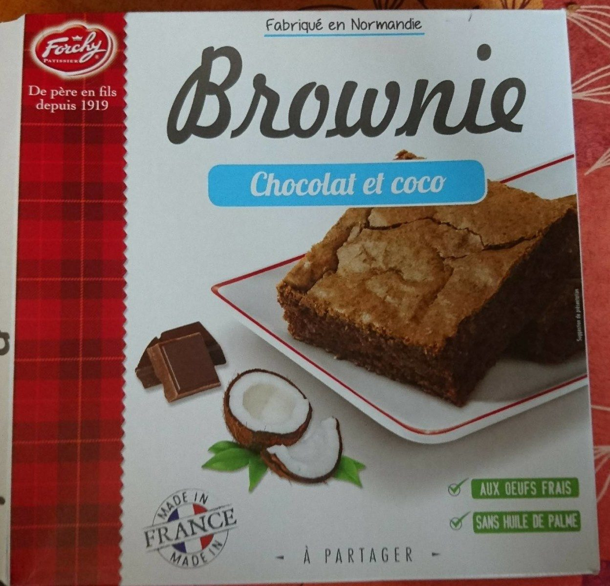 Brownie Chocolat et Coco - Product - fr