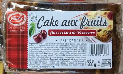 Cake aux fruits aux cerises de Provence - Produit