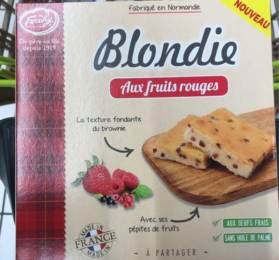 Blondie aux Fruits Rouges - Product