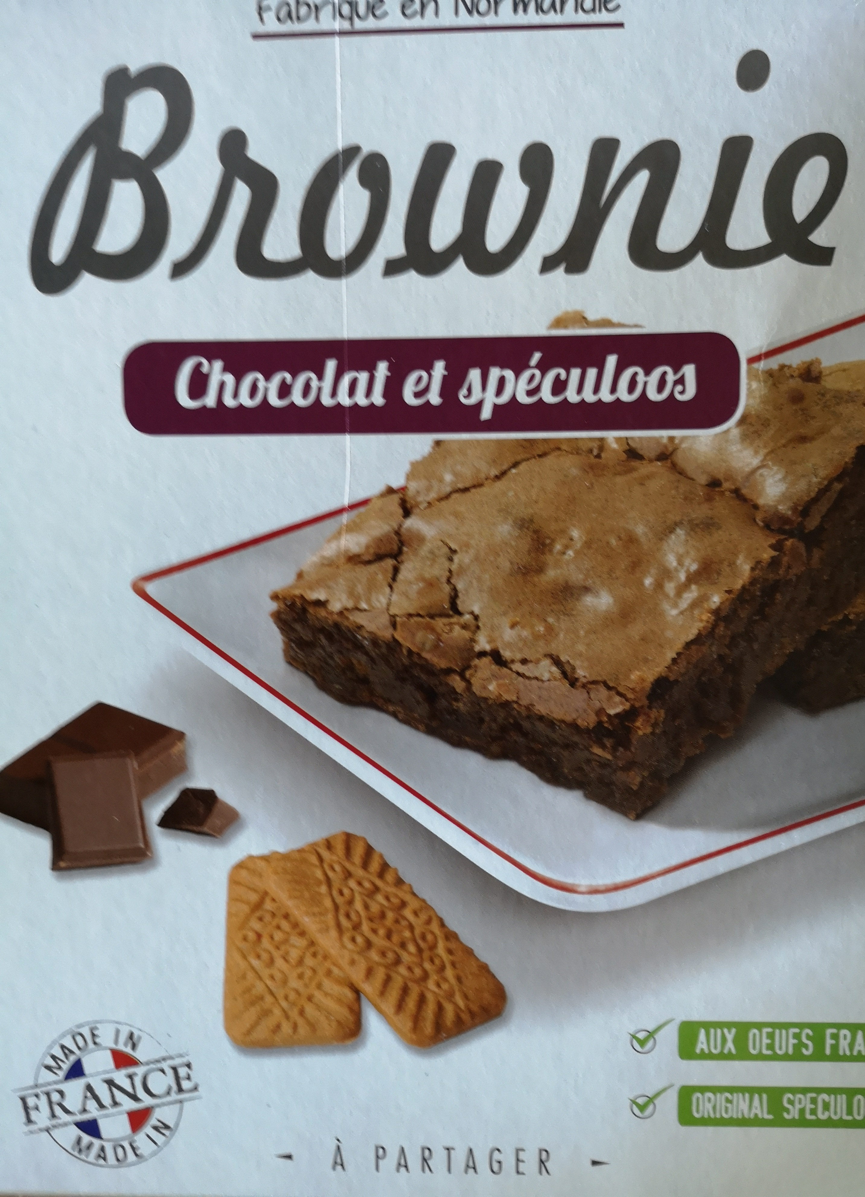 Forchy Brownie De Chocolate Con Speculoos - Product - fr