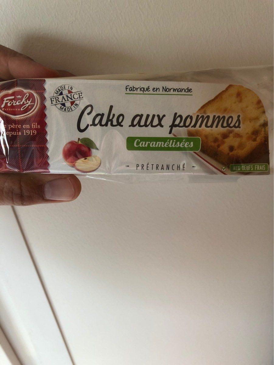 Cake aux pommes caramélisées - Product - fr