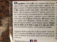 Cake aux pommes caramélisées - Ingredients - fr