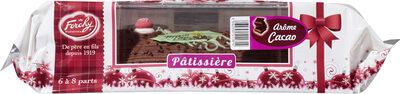 Bûche pâtissière cacao - Produit - fr