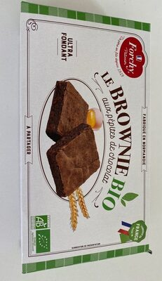 Brownie bio forchy - Product - fr