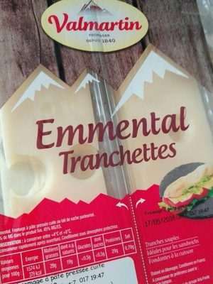 Emmental tranchettes - Producto
