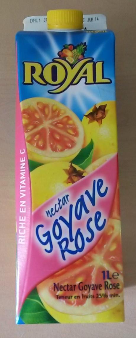 Nectar de goyave rose - Produit - fr