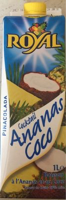 Cocktail Ananas Coco Pinacolada - Product
