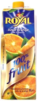 Jus d'orange des tropiques - Produit - fr