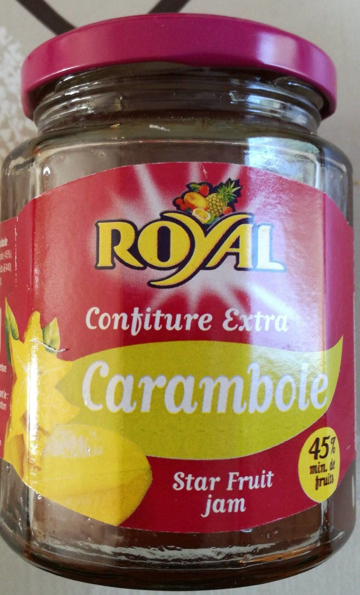 Confiture extra Carambole - Product - fr