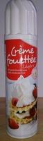 Crème fouettée légère - Produit - fr