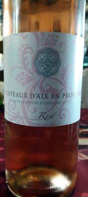 Coteaux d'Aix en Provence 2016 Rosé - Produit - fr