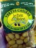 Olives Vertes Cassées au Basilic et à l'Ail - Produit