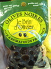 Olives noires aux aromates de Provence - Produit